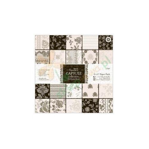 Oferta Zestaw papierów Papermania CAPSULE MIDNIGHT BLUSH 15x15 cm 32 kartki