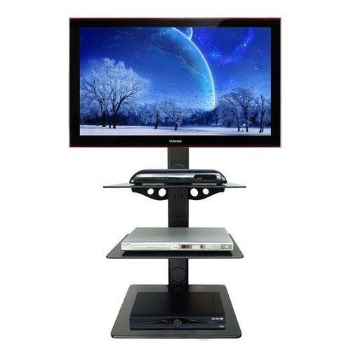 Półka audio video DVD hartowane szkło i aluminium - Glass3, marki Fiber Novelty do zakupu w Uchwyty LCD