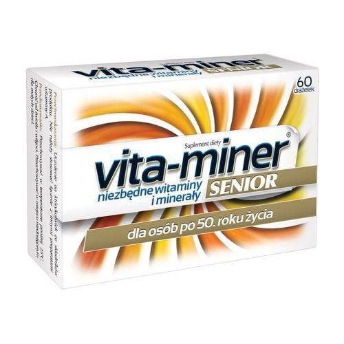 Vita miner Senior x 60 draż., postać leku: tabletki