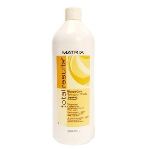 Matrix Total Results Blonde Care - Odżywka do włosów blond 1000ml - produkt z kategorii- odżywki do włosów