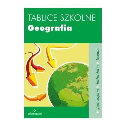Tablice szkolne. Geografia - oferta [254c672565b5248d]