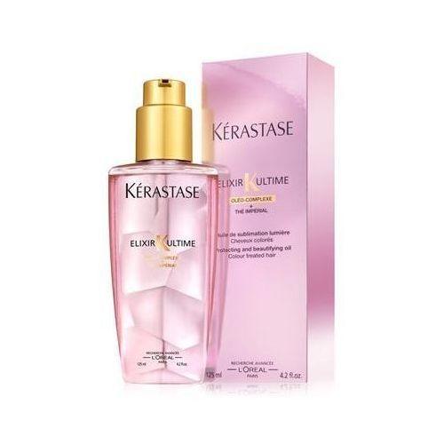 Produkt z kategorii- pozostałe kosmetyki do włosów - Kerastase Elixir Ultime dla włosów koloryzowanych - 125 ml