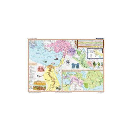 Produkt Starożytny wschód - pierwsze państwa. Mapa ścienna starożytnego wschodu. , marki Meridian