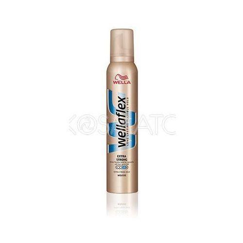 Produkt z kategorii- pozostałe kosmetyki do włosów - Wellaflex Extra Strong Pianka, 200 ml