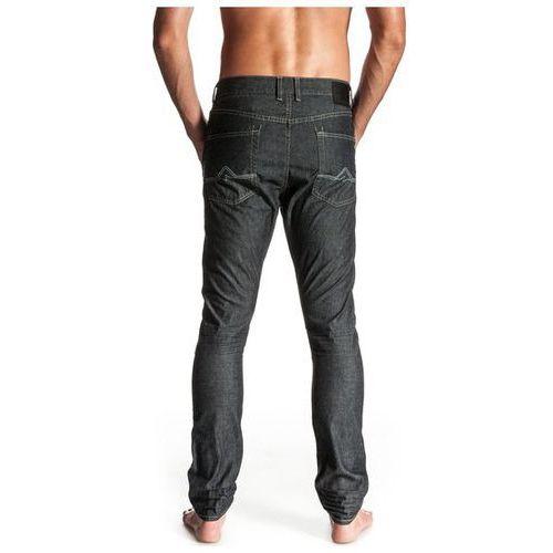 Produkt z kategorii- spodnie męskie - jeansy Quiksilver The Worker - Medium Wash