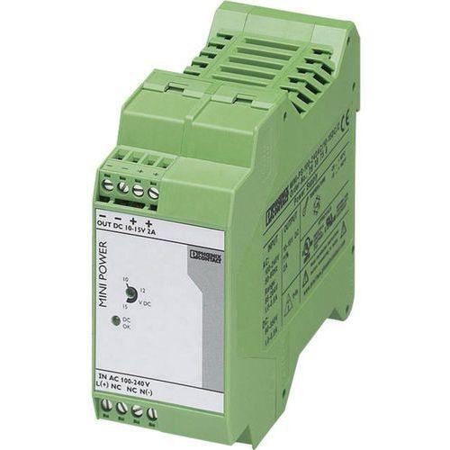 Zasilacz na szynę Phoenix Contact MINI-PS-100-240AC/10-15DC/2, 10 - 15 V, 2 A z kategorii Transformatory