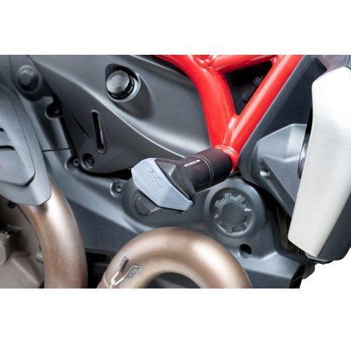 y PUIG do Ducati Monster 821 14-15 / Monster 1200 14-15 (czarne) z kategorii crash pady motocyklowe