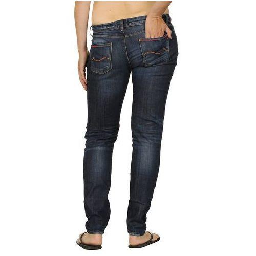 jeansy Roxy Amber Cropped - Dark Sunkissed - produkt z kategorii- spodnie męskie