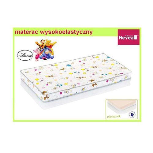 Produkt HEVEA MATERAC WYSOKOELASTYCZNY DISNEY BABY KUBUŚ PUCHATEK 130x70