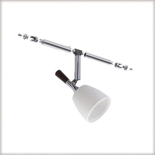 Paulmann 2Easy Mix kinkiety do linek i prętów 5x20W GU5,3 chrom/wenge ( P94013 ) z kategorii oświetlenie