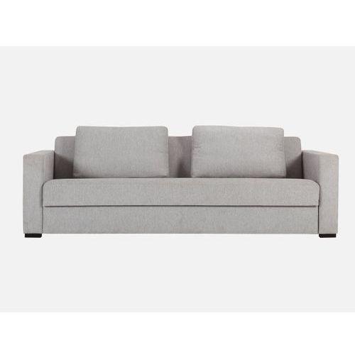 Sofa Puk 3 seater DAS 07 grey beige tkanina jasnoszara  E1875-0440-2S-DAS07-21b, Sits