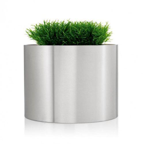 GREENS Donica Stalowa Okrągła 60 cm, produkt marki Blomus