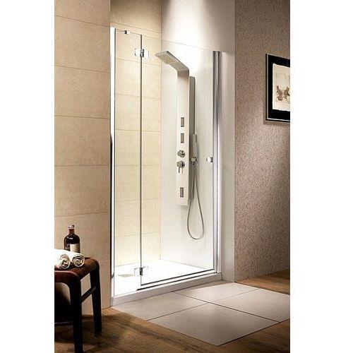 Fuenta DWJ Radaway drzwi wnękowe grafit 1190-1210x1950 lewa - 381016-05NL (drzwi prysznicowe)