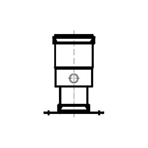Oferta Termet Adapter spalinowy z króćcem pomiarowym i kołnierzem Ø80 (układ niezależny) z kat.: ogrzewanie