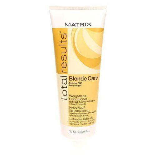 Matrix Total Results Blonde Care Conditioner - Odżywka do włosów blond, 250 ml - produkt z kategorii- odżywki do włosów