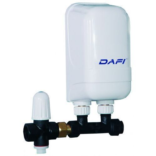 Elektryczny momentalny przepływowy ogrzewacz wody dafi - wersja z przyłączem - 7,5 kw 400 v, marki Formaster