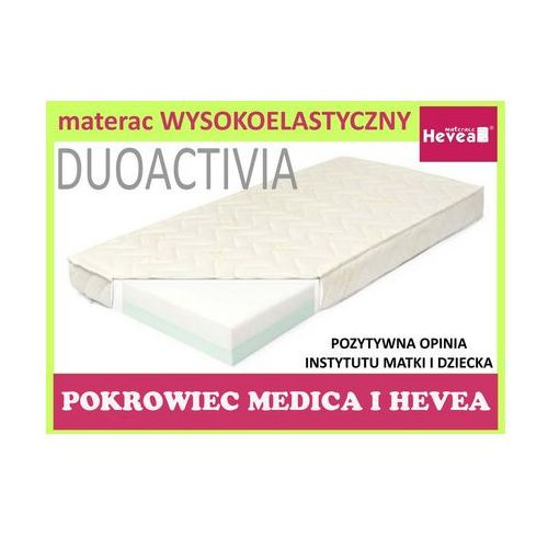 Produkt HEVEA MATERAC PIANKOWY DUO ACTIVIA 120X60