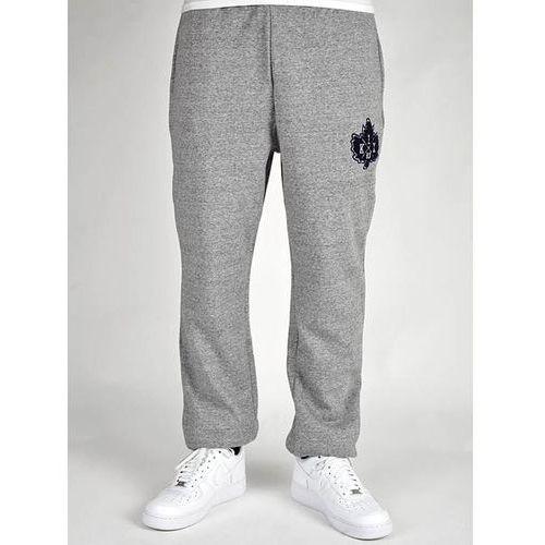 spodnie dresowe K1X - Vintage Crest Sweatpants Dark Grey Heather/Navy (8486) - produkt z kategorii- spodnie m�