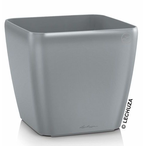 Produkt Donica Lechuza Quadro LS srebrna, marki Produkty marki Lechuza