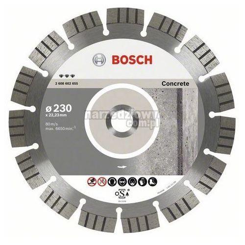 BOSCH Diamentowa tarcza tnąca do betonu do szlifierek kątowych Expert for Concrete, Średnica (mm): 300, Szerokość cięcia (mm): 2,8 ze sklepu narzedziowy.com.pl