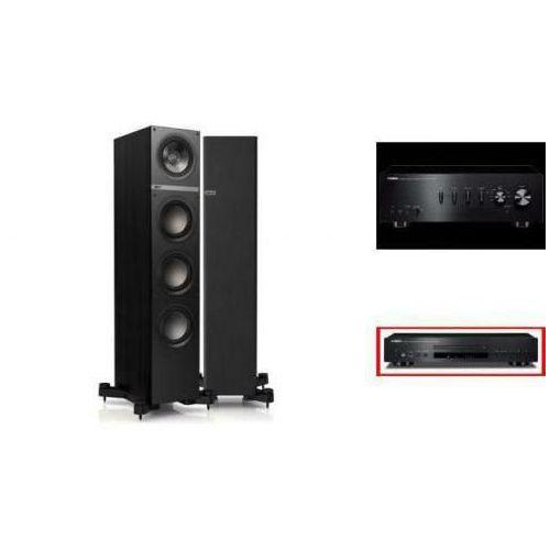 YAMAHA A-S301 + CD-S300 + KEF Q500 czarne - wieża, zestaw hifi - zmontuj tanio swój zestaw na stronie