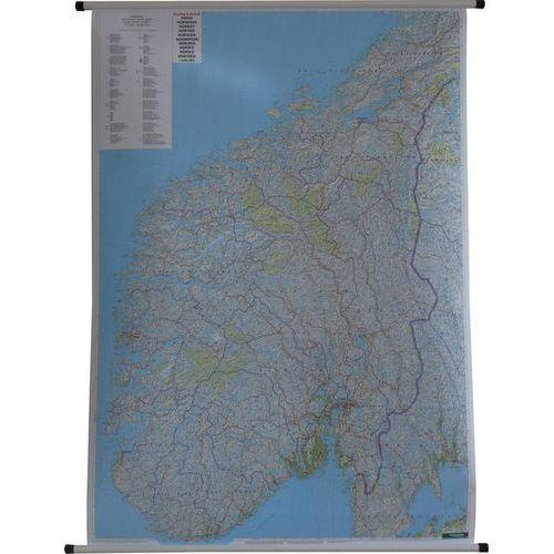 Norwegia. Mapa ścienna drogowa 1:600 000 wyd. , produkt marki Freytag&Berndt