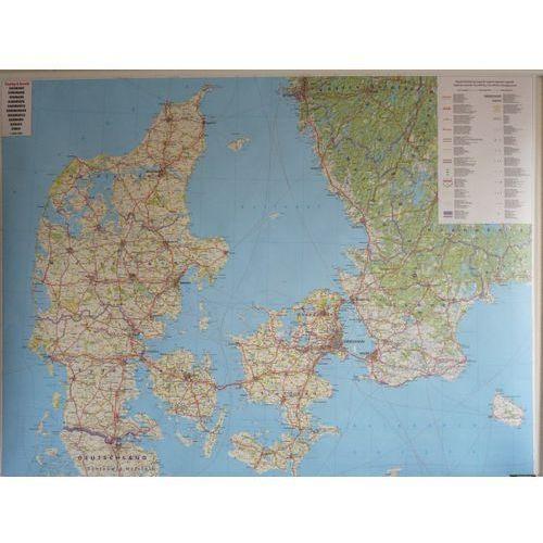 Dania. Mapa ścienna drogowa 1:400 000 wyd. , produkt marki Freytag&Berndt