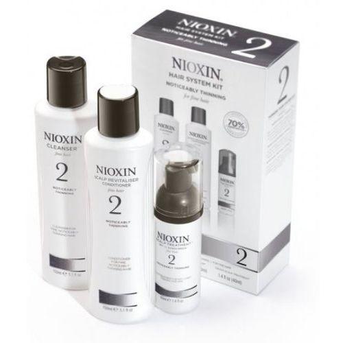 Nioxin System 2 - Zestaw do włosów znacznie przerzedzonych, cienkich i normalnych - szczegóły w Estyl.pl