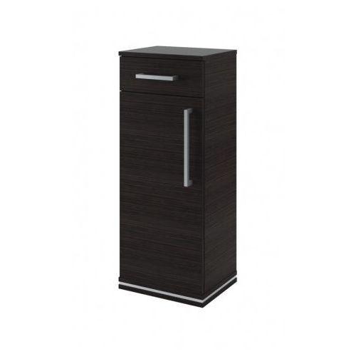 AQUAFORM szafka wisząca z drzwiami i szufladą Ancona (słupek) legno ciemne 0410-221600 - produkt z kategori