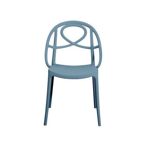 Krzesło ogrodowe Green Etoile niebieskie ze sklepu All4home
