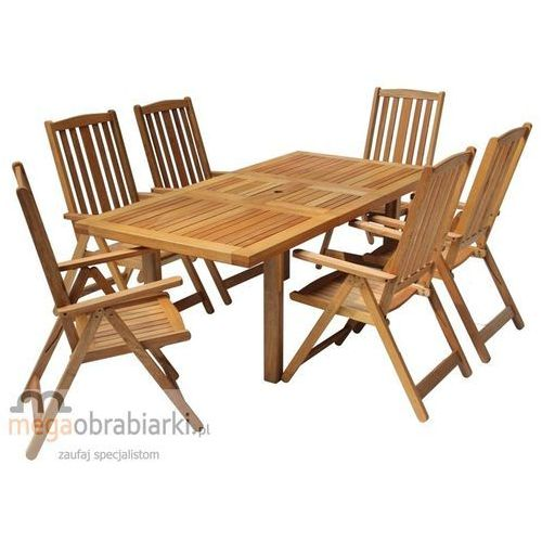 Produkt HECHT Zestaw mebli ogrodowych stół + 6 krzeseł Rectangle Set RATY 0,5% NA CAŁY ASORTYMENT DZWO