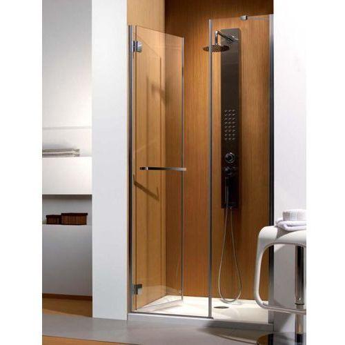 Carena DWJ Radaway drzwi wnękowe 993-1005x1950 chrom szkło brązowe lewe - 34322-01-08NL (drzwi prysznicowe)