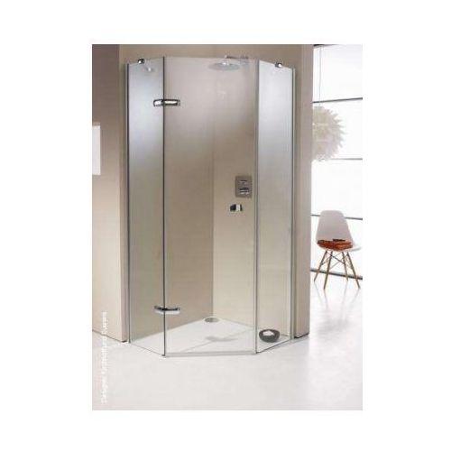 HUPPE ENJOY ELEGANCE 5-kąt Drzwi skrzydłowe ze stałymi segmentami, 1-częściowe 3T3601 (drzwi prysznicowe)