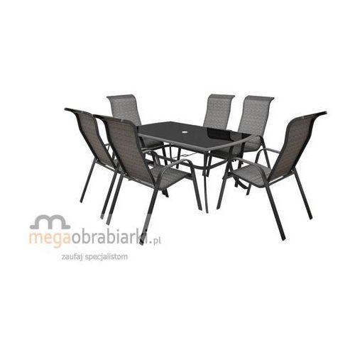 HECHT Stół + 6 krzeseł Honey Set Maxi (stół ogrodowy)