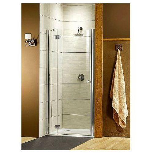 Radaway Torrenta DWJ Torrenta DWJ Drzwi prysznicowe wnękowe - Mocowanie prawe 100/185 cm Chrom Szkło przezro