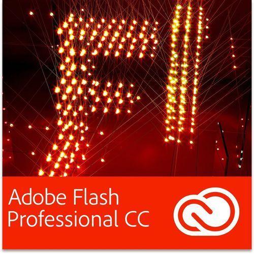 Produkt z kategorii- pozostałe oprogramowanie - Adobe Flash Professional CC PL EDU for Teams Multi European Languages Win/Mac - Subskrypcja (12 m-ce)