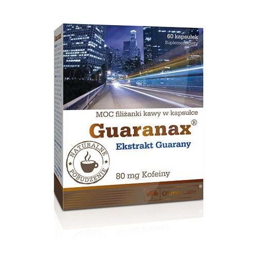 Olimp Guaranax kaps. - 60 kaps., postać leku: kapsułki