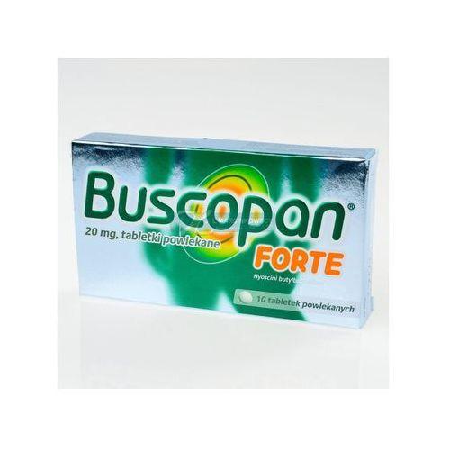 BUSCOPAN FORTE 10 TABLETEK - produkt farmaceutyczny
