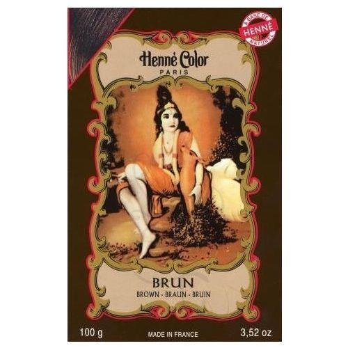 Cosmetics Natural Colour Cream - Henna w proszku Brun/Brąz 100g - szczegóły w Pachnidełko