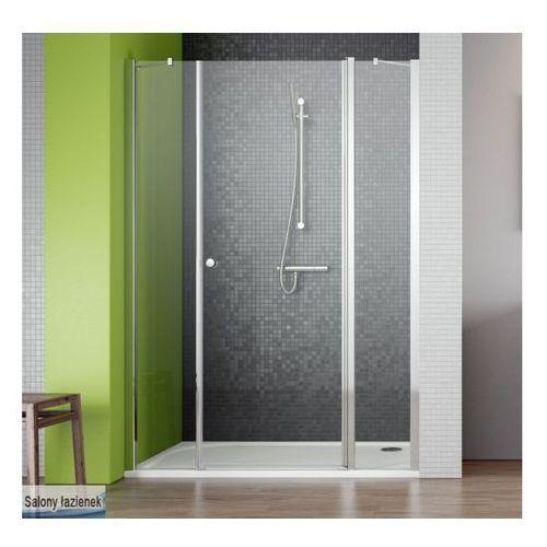 Oferta Drzwi wnękowe ze ściankami bocznymi 130 EOS II DWS Radaway (3799455-01R) (drzwi prysznicowe)