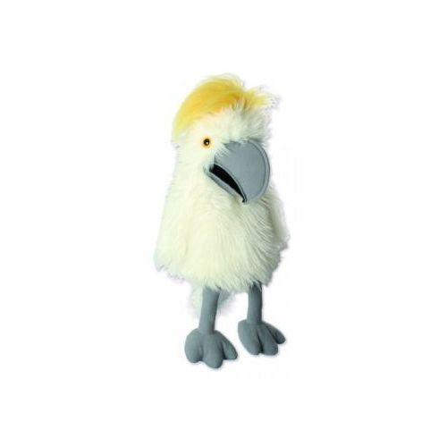 Kakadu żółtoczuba - pacynka wydająca dźwięki (pacynka, kukiełka)