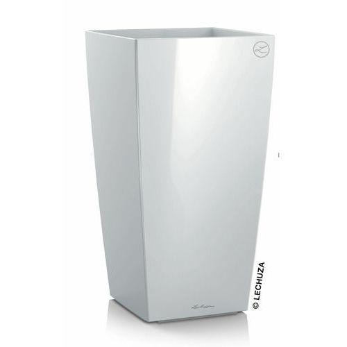 Donica Lechuza Cubico biała, produkt marki Produkty marki Lechuza