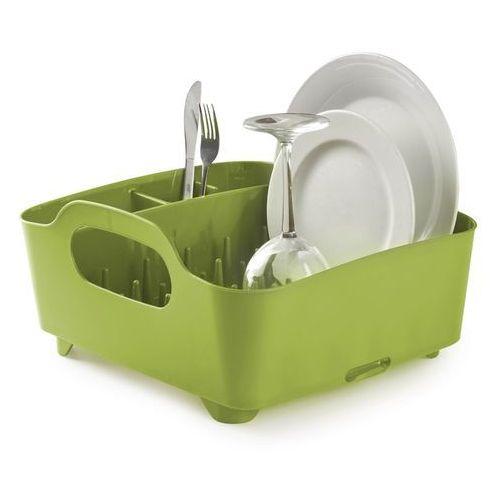 Produkt z kategorii- suszarki do naczyń - Ociekacz do naczyń Umbra Tub zielony