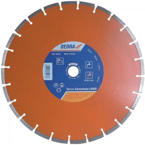 Tarcza do cięcia DEDRA H1173 350 x 25.4 mm Laser Beton diamentowa ze sklepu Media Expert
