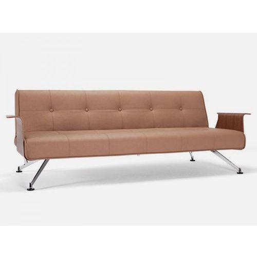 Sofa Clubber z podłokietnikami brązowa 593  742041593-0-742041003-3, INNOVATION iStyle