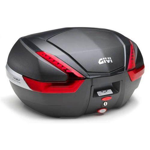 Kufer Givi V47NN (czarny, 47 litrów, czerwone odblaski, pokrywa karbonowa) - oferta [152bdeaf6f2364b1]