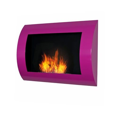 Biokominek dekoracyjny Convex (fuksja) EcoFire - oferta [15f74d731725154d]
