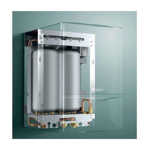 vcw 296/5-5 vih cl 20s + calormatic 470 + poziome wyprowadzenie przez ścianę lub dach 001001716-clrh od producenta Vaillant