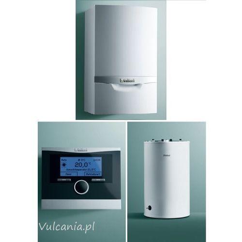 pakiet vc 246 + vih r 150 + calormatic 470 + poziome wyprowadzenie przez dach lub ścianę (303922) od producenta Vaillant