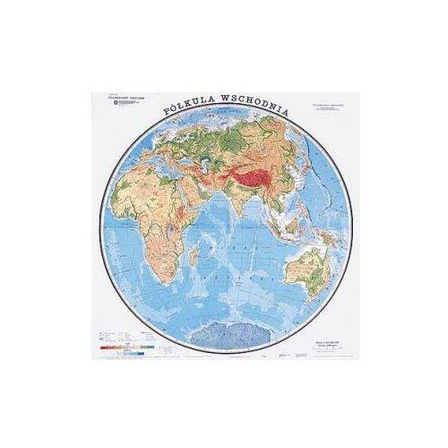 Świat / Półkula wschodnia. Mapa ścienna, fizyczna, produkt marki Nowa Era